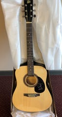A guitar autographed by Miranda Lambert will be among the silent auction items Thursday.