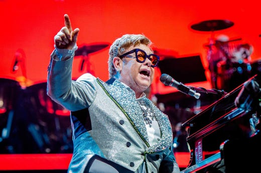 You can make your own audio mix for Elton John's 'Farewell Yellow Brick Road' tour with new tech Peex