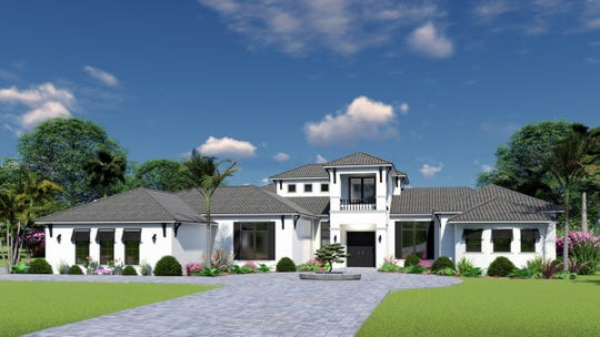 Cintron Custom Builders has begun construction on the Brentwood model home in Livingston Woods.