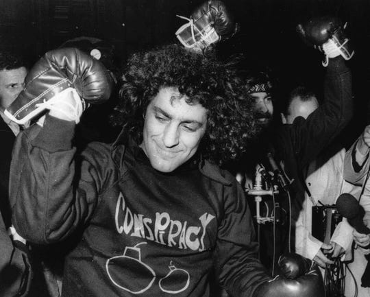 "Abbie Hoffman, left, authored ""Steal This Book,"" a counterculture guide to theft"