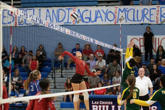 Matilde Bellandi is an exchange student from Italy, who has contributed to the Las Cruces volleyball team this season.