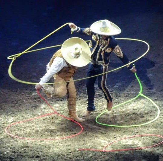 Acting for the first time in the Spectactular Concert are Los Escamilla Brothers. The Escamilla Brothers are proud to offer the professional exhibition of the traditional trick art known as