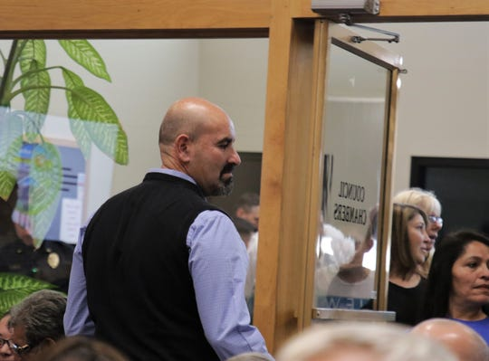 State Rep. Rod Montoya, R-Farmington, was one of several legislators who attended the Farmington City Council meeting on Oct. 8, 2019.