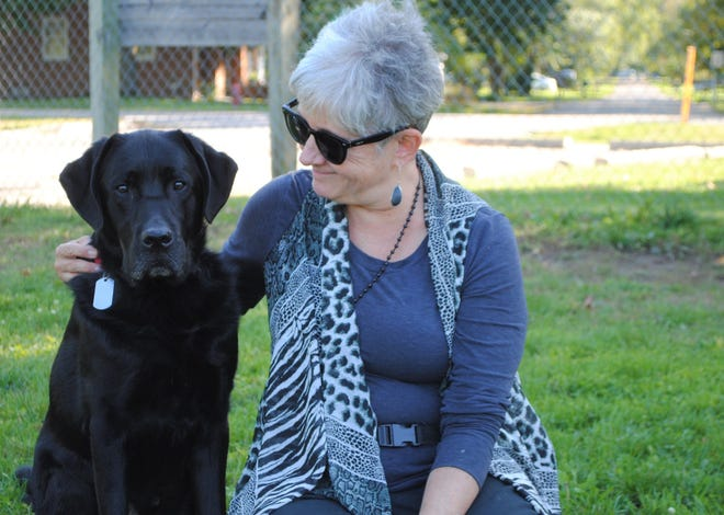King's research focuses on the potential corellation between health, happiness and regular visits to the dog park.