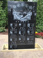 The Lest They Be Forgotten memorial on the Sheriff's Building campus in Pontiac commemorates the sacrifices made by 22 Oakland County soldiers who  made the ultimate sacrifice in the Iraqi Freedom and Operation Enduring Freedom.
