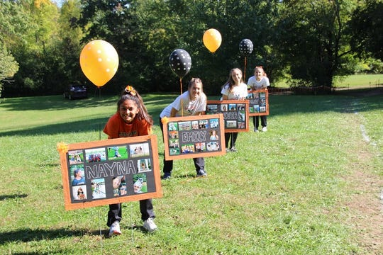 The Northville girls cross country team celebrated its senior day with a win against Novi.