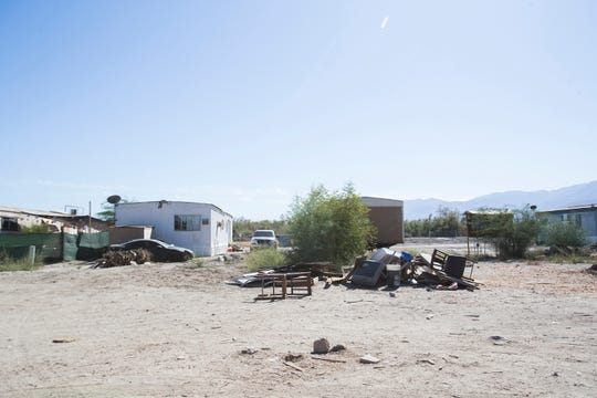 Oasis Mobile Home Park sits on Torres Martinez Reservation land which is privately owned by Scott Lawson. The owner has been cited for violations of not providing potable water to the residents of the mobile park by the Environmental Protection Agency for the state of California.