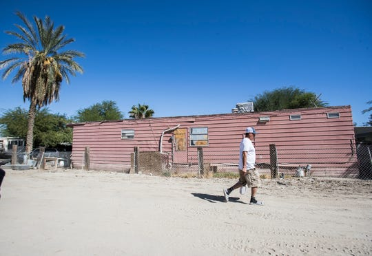 Oasis Mobile Home Park sits on the Torres  Martinez reservation and is owned by Scott Lawson, who has been cited by the U.S. EPA.