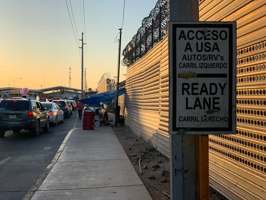 Migrants seeking asylum at the San Luis port of entry on the Arizona-Mexico border are no longer allowed to camp out in front of the port. Waiting families take turns directing recent arrivals to Divina Providencia, the lone migrant shelter in San Luis Rio Colorado that manages the wait list.