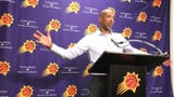 Monty Williams talked about how the two teams combined for 56 turnovers in Tuesday's preseason opener the Phoenix Suns won over the Minnesota Timberwolves.