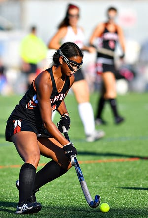 Central York's Victoria Whitehead is the York-Adams Division I Player of the Year. Dawn J. Sagert photo