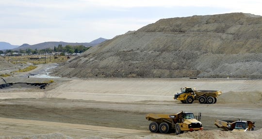 Phase one of the Anaconda Mine cleanup project began in August.