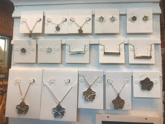 Rochester necklaces at Peppermint.