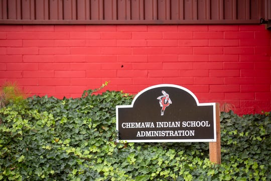 The exterior of the Chemawa Indian School in Salem, Oct. 2, 2019. A federal gag order was recently lifted around the Native American boarding school after a Congressional hearing.