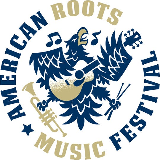 The logo for the Nov. 2 American Roots Music Festival.