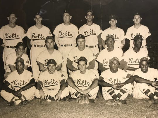 The 1955 San Angelo Colts won the Longhorn League Championship.