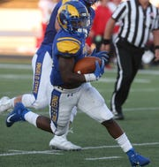 """Angelo State University running back Lloyd """"Bam"""" Morris is enjoying a stellar senior season with the Rams. ASU hosts Western New Mexico for homecoming on Saturday, Oct. 12, 2019."""