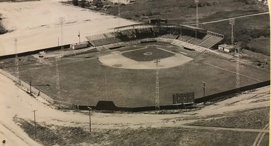 Guinn Field was located at the intersection of North Randolph and 21st Street in north San Angelo, and was the home of the local minor-league baseball team from 1948-1959.