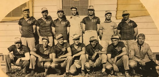 Many business and other entities formed teams for competitions in town and abroad. This team was fielded from a squadron at Goodfellow Air Field in May of 1941, not long after the installation opened.