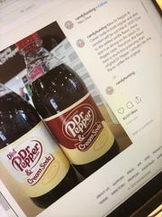 Instagram post by @candyhunting claiming the release of the new Dr Pepper & Cream Soda flavor.