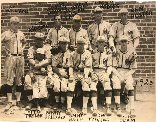 The Standard's Red Rooster baseball team had a .817 season in the City League back in 1925, winning 44 games in a 54-game season.
