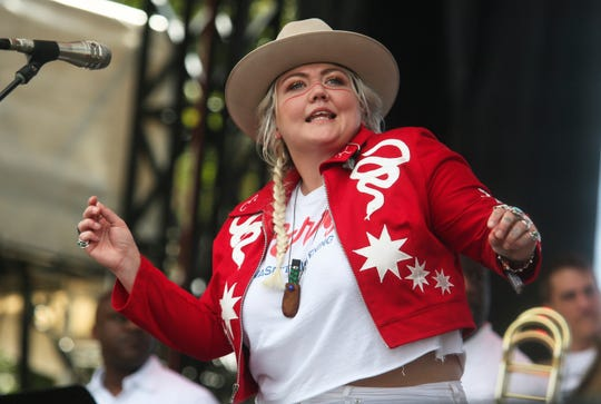Elle King performs at the Austin City Limits Music Festival on Oct. 7, 2018, in Austin, Texas.