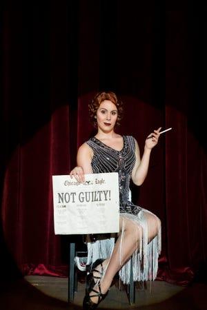 "Meet aspiring actress Roxie Hart (Lannie Rubio) in FSU School of Theatre's production of ""Chicago.'"