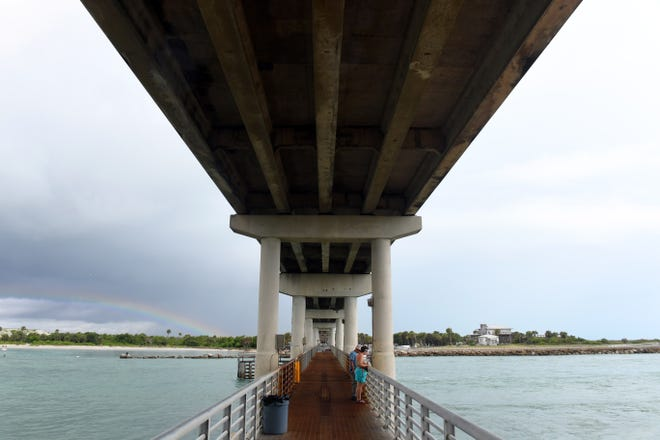 """After Hurricane Dorian, a routine visual inspection determined the James H. Pruitt Memorial Bridge, which crosses the inlet between Brevard and Indian River counties, was determined to be """"structurally deficient"""" according to the Florida Department of Transportation and needs to be demolished and replaced within six years."""