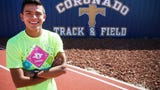 Coronado's Nick Gonzalez is one of the top cross country runners in El Paso and Texas.