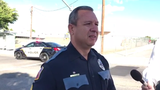 El Paso police spokesman Sgt. Enrique Carrillo urges drivers to slow down in school zones and at crosswalks after a girl was killed Oct. 9, 2019.