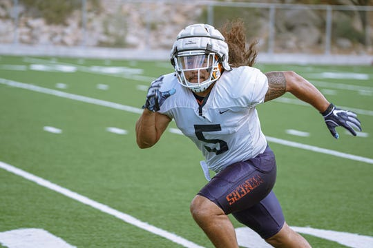 Sione Tupou is a sophomore linebacker for the UTEP football team