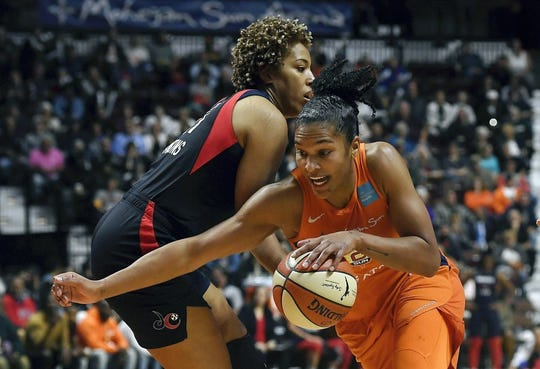 The Connecticut Sun beat the Washington Mystics 90-86 to force a Game 5 in the WNBA Finals.