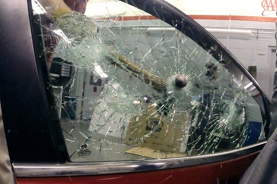 While laminated glass helps keep you from being ejected in a crash, it is also extremely hard to break in an emergency.