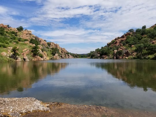 The Craterville area is a breathtaking spot in the Wichita Mountains. Dr. Jonathan Price, chair and Prothro Distinguished Associate Professor of Geological Science in the McCoy College of Science, Mathematics & Engineering's Kimbell School of Geosciences, will speak about the geology of the Wichita Mountains at Monday's Faculty Forum, 7 p.m. at MSU's Legacy Hall.