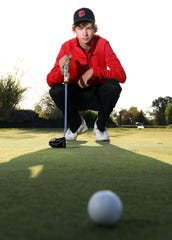 Crooksville's Blake White and the rest of the Ceramics are heading to the Division II state golf tournament.