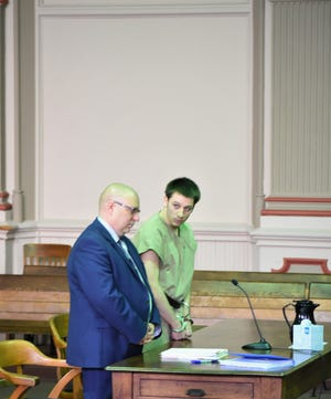 Zanesville resident Logan Jones, 16, was convicted as an adult and sentenced to 30 months in prison on Wednesday for burglary.