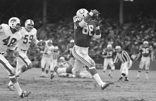 John Mackey was a Super Bowl champion and a five-time First Team All-Pro.