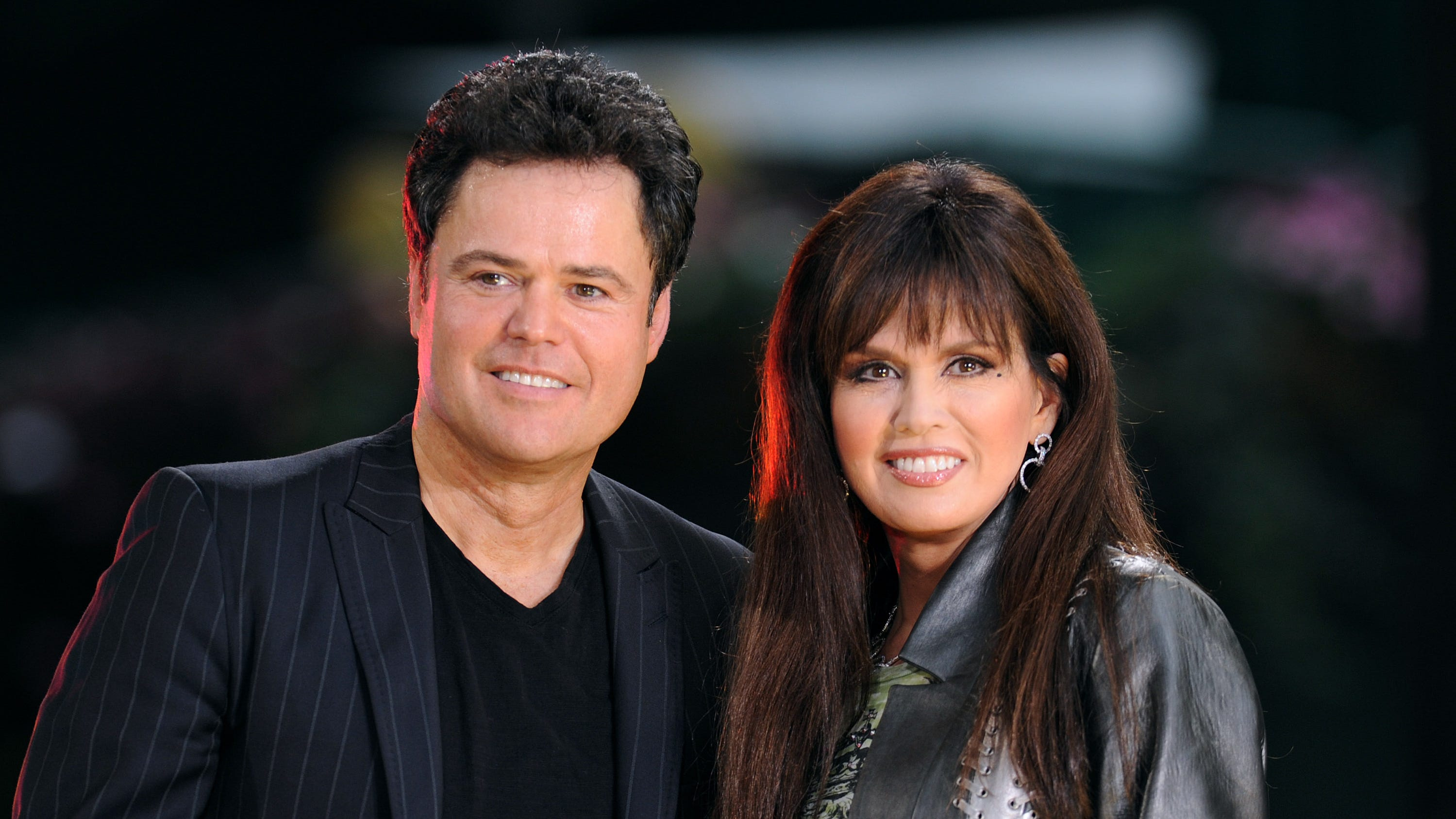 Marie and Donny Osmond fight back tears during last Las Vegas show