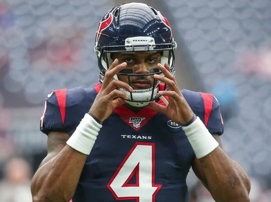 After his 5-TD performance in Week 5, the Texans' Deshaun Watson is now the No. 3-rated fantasy quarterback on the season.