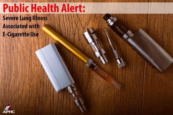 Handout image released by the Army Public Health Center as part of a Public Health Alert released on  Sept. 10, 2019 warning Soldiers and Family Members who do not currently use tobacco products to avoid all e-cigarette and vaping products, particularly those sold off the street or modified to add any substances not intended by the manufacturer.
