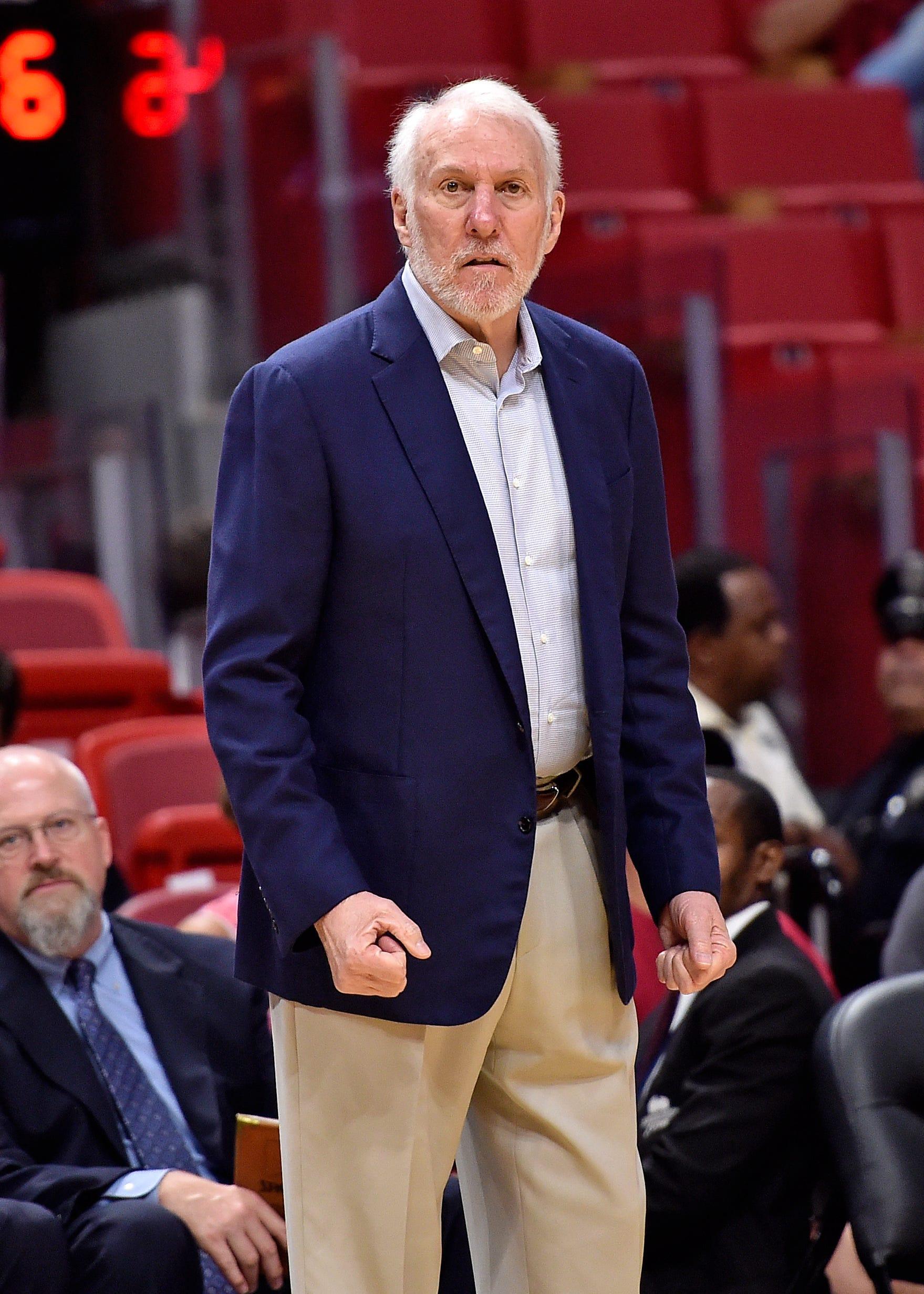 Gregg Popovich offers support for NBA commissioner Adam Silver on NBA-China showdown