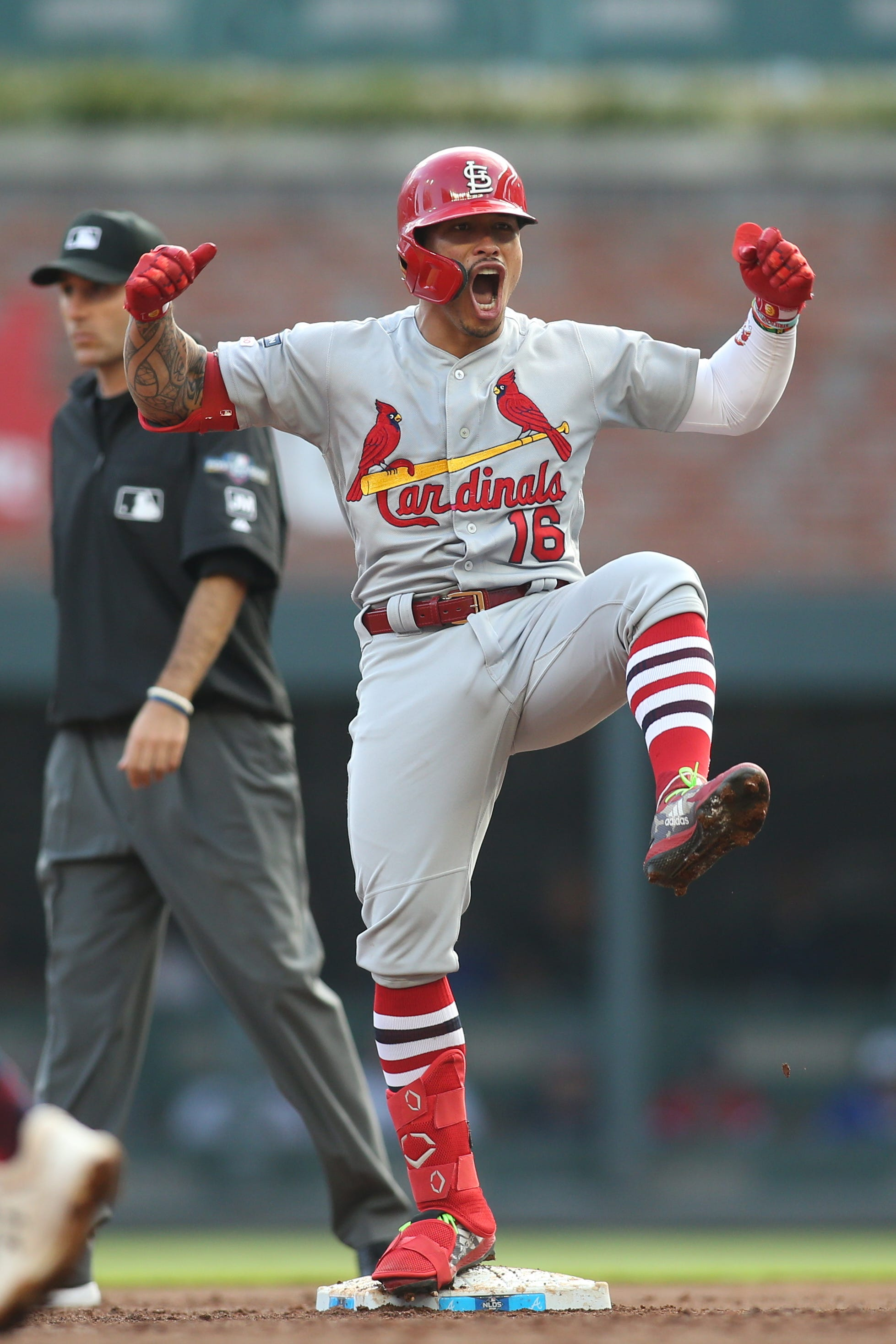 Behind historic first inning, Cardinals advance to NLCS with blowout win vs. Braves in NLDS Game 5