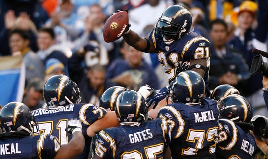 LaDainian Tomlinson was the NFL MVP and Offensive Player of the Year in 2006 and a five-time First Team All Pro.