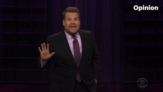 Corden compares Trump to your guilty little brother in Best of Late Night