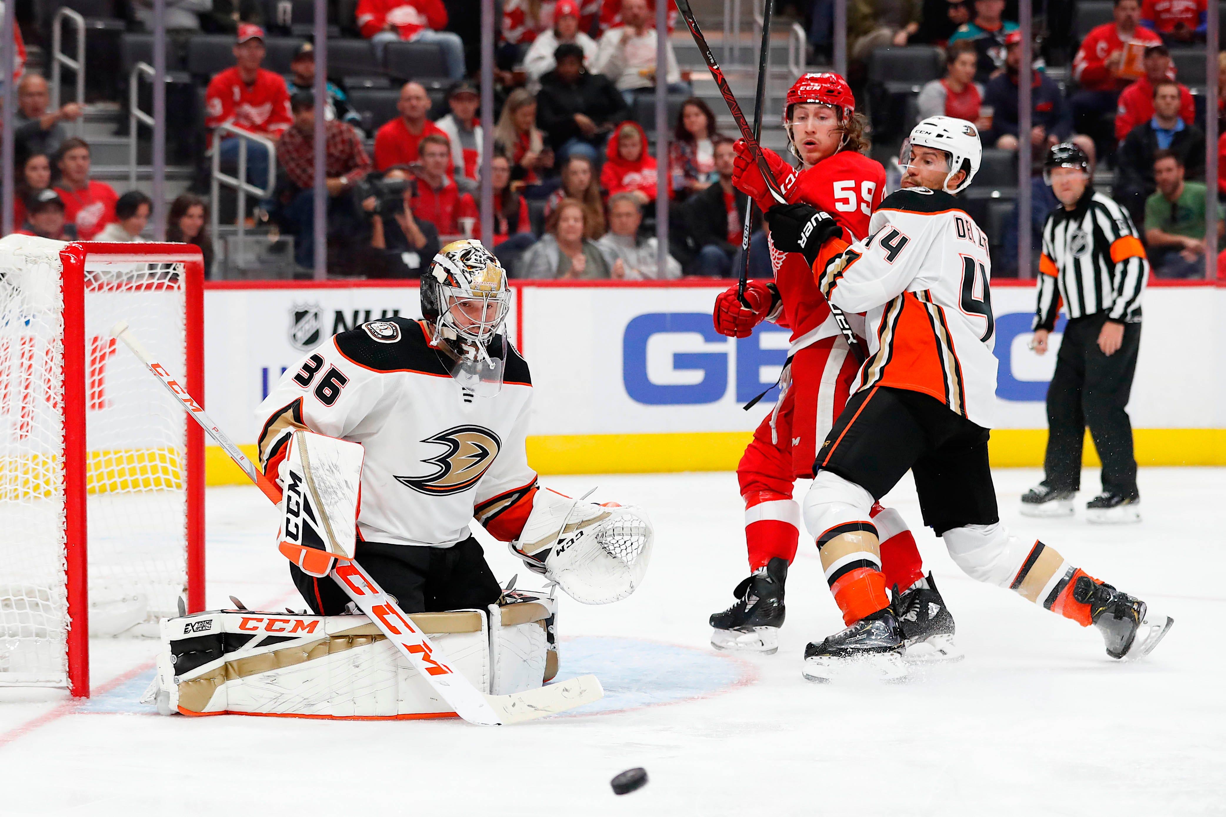 Anaheim Ducks, John Gibson among the NHL's early season surprises