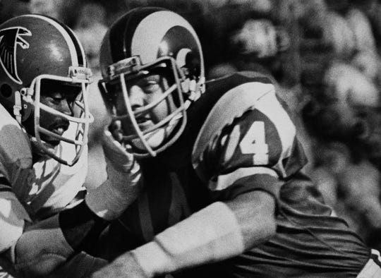 Merlin Olsen was a five-time First Team All-Pro and played in 14 Pro Bowls.