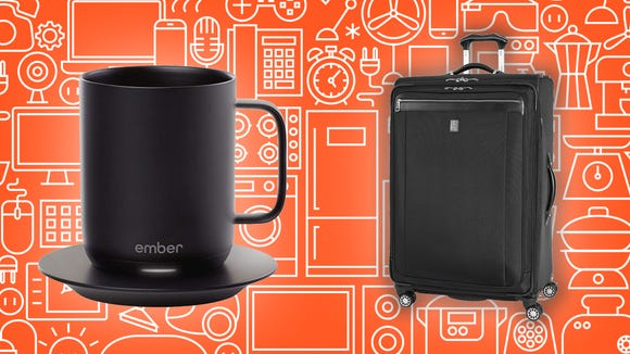 This Wednesday, smart mugs, suitcases, and other great products are all on sale at Amazon.