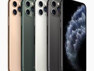 Even smartphones now have advanced cameras, like iPhone 11 Pro (pictured here), ideal for video conference calls – anywhere and anytime.