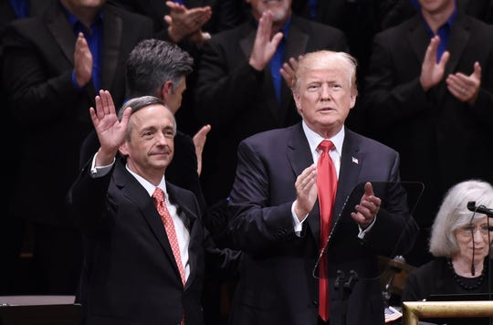 Message to evangelicals: Impeachment is about Donald Trump. It's not an attack on you.