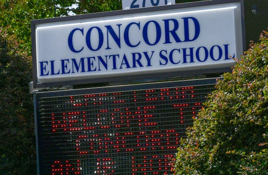 Concord Elementary School in Anderson Thursday, October 10, 2019.